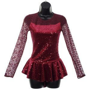 WEISSMAN Dance Costume Adult Sequin Jazz Outfit